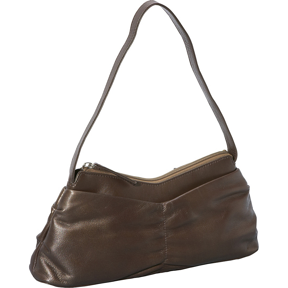 Derek Alexander EW Top Zip GOLD - Derek Alexander Leather Handbags - Handbags, Leather Handbags