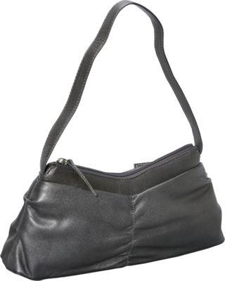 Derek Alexander EW Top Zip Silver - Derek Alexander Leather Handbags