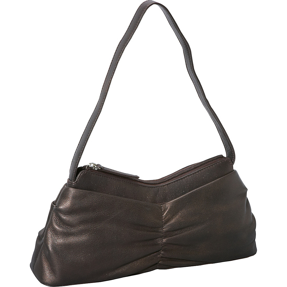 Derek Alexander EW Top Zip Bronze - Derek Alexander Leather Handbags - Handbags, Leather Handbags