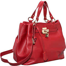Verona Tote Bag Red