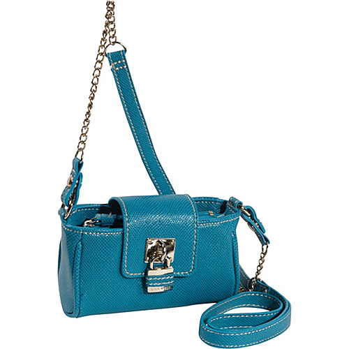 Nine West Handbags Eye Candy Mini Tech Crossbody Pacific Blue - Nine West Handbags Ladies Wallet on a String