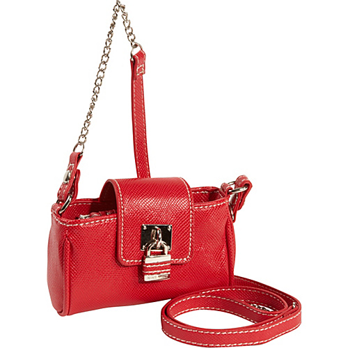 Nine West Handbags Eye Candy Mini Tech Crossbody Ruby - Nine West Handbags Ladies Wallet on a String