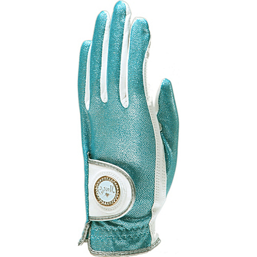 Glove It Aqua Bling Glove Aqua Left Hand Large - Glove It Golf Bags