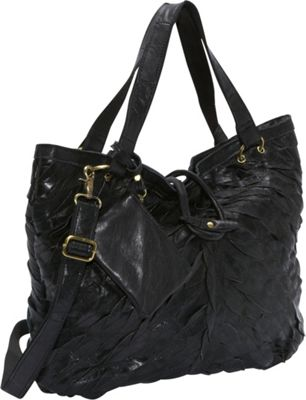 AmeriLeather Sana Tote Black - AmeriLeather Leather Handbags