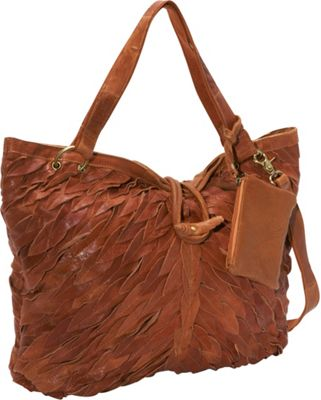 AmeriLeather Sana Tote Saddle Brown - AmeriLeather Leather Handbags