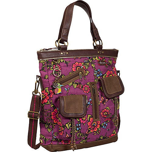 Sakroots Artist Circle Utility bag Berry True Love - Sakroots Fabric Handbags