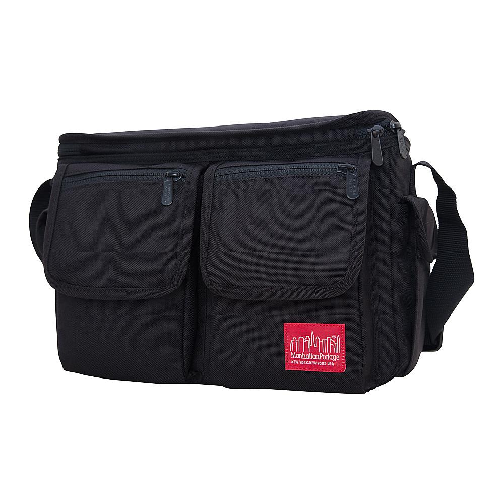 Manhattan Portage Shutterbug Messenger Bag Black - Manhattan Portage Camera Accessories