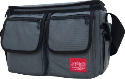 Manhattan Portage Shutterbug Messenger Bag Gray - Manhattan Portage Camera Accessories