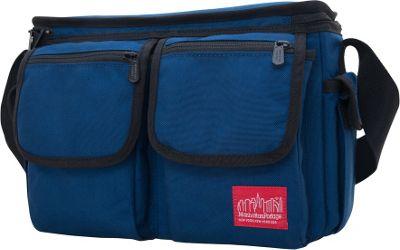 Manhattan Portage Shutterbug Messenger Bag Navy - Manhattan Portage Camera Accessories