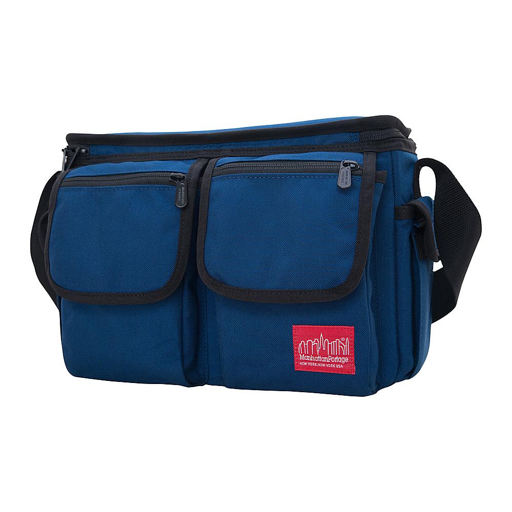 Manhattan Portage Shutterbug Messenger Bag Navy - Manhattan Portage Camera Accessories - Technology, Camera Accessories