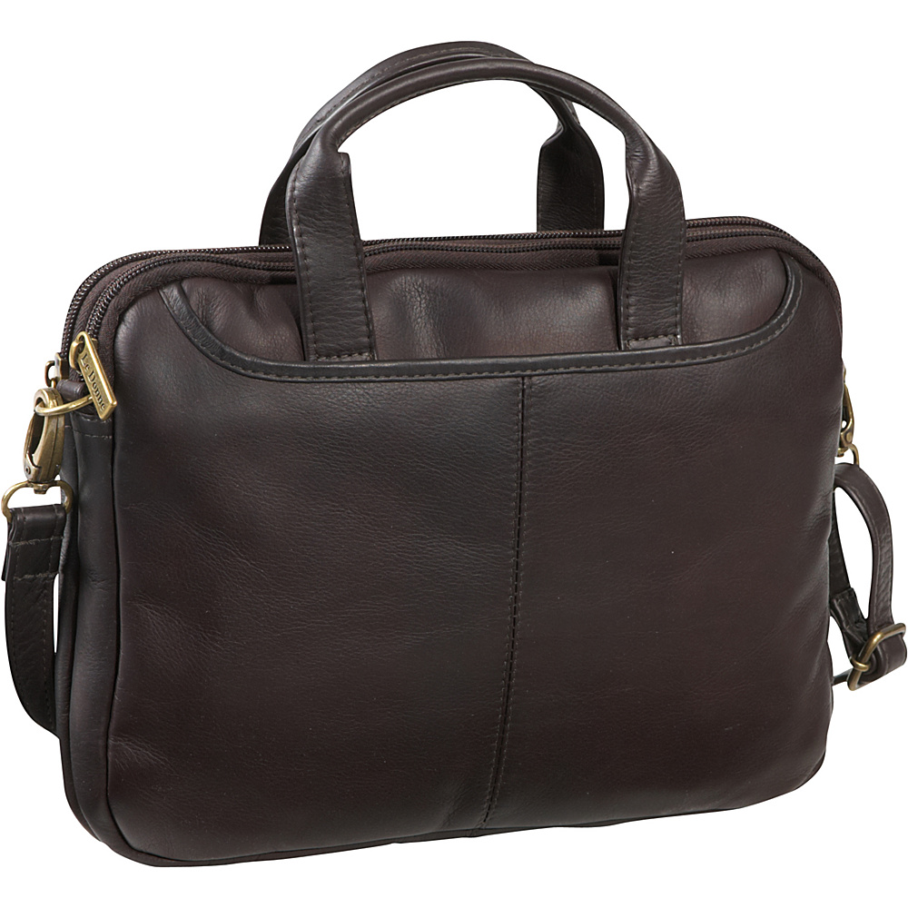 Le Donne Leather iPad/Netbook Case Cafe - Le Donne Leather Non-Wheeled Business Cases - Work Bags & Briefcases, Non-Wheeled Business Cases