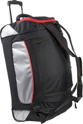 Samsonite Utility Backpack Duffel 26 Black Grey Samsonite Travel Duffels