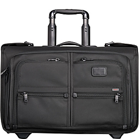 Alpha Wheeled Carry-On Garment Bag Black