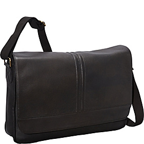 Laptop Messenger Bag BLACK