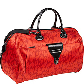 Glam Rock 21'' Weekender Bag Red Cheetah