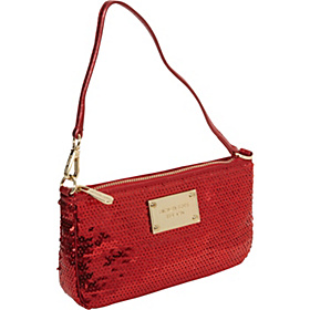 Sequins Medium Wristlet Red