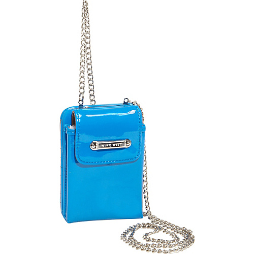 Nine West Handbags Day Glo Disco Crossbody Electric Blue - Nine West Handbags Ladies Small Wallets