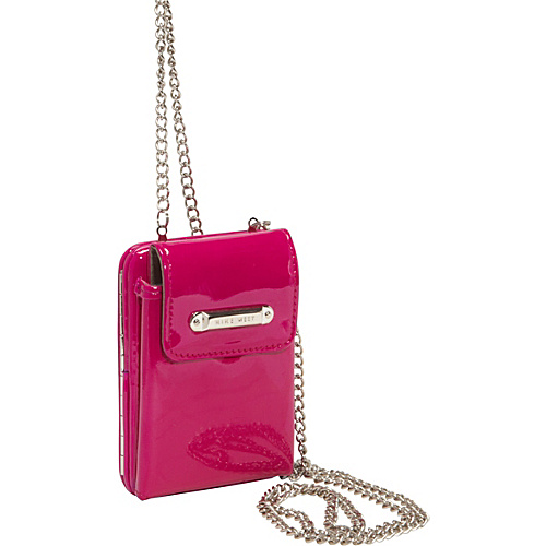 Nine West Handbags Day Glo Disco Crossbody Electric Magenta - Nine West Handbags Ladies Small Wallets