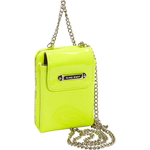 Nine West Handbags Day Glo Disco Crossbody Electric Yellow - Nine West Handbags Ladies Small Wallets