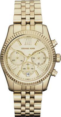Michael Kors Watches Lexington Watch Gold - Michael Kors Watches Watches