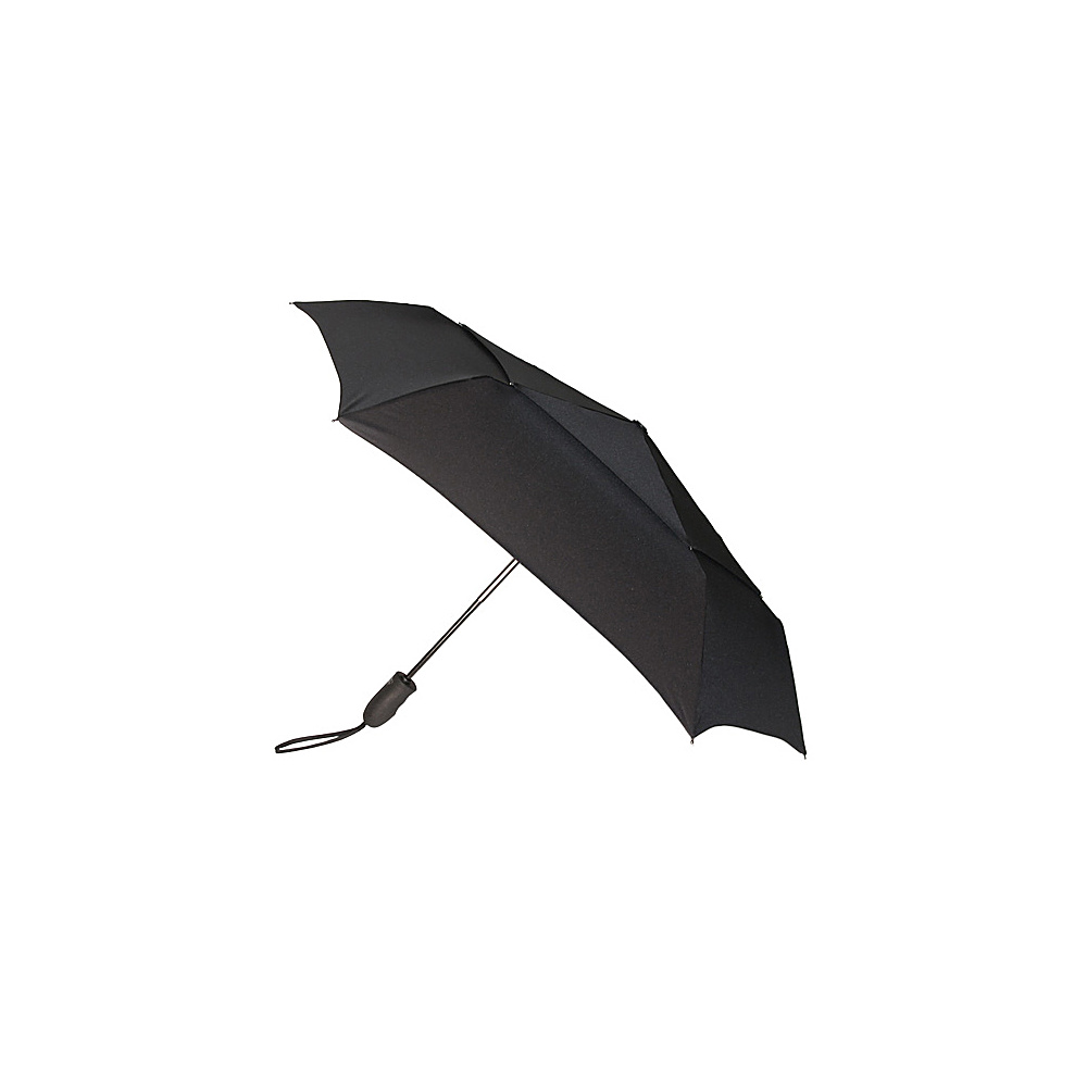 ShedRain Windjammer Auto Open & Close Umbrella - Black - Travel Accessories, Umbrellas and Rain Gear