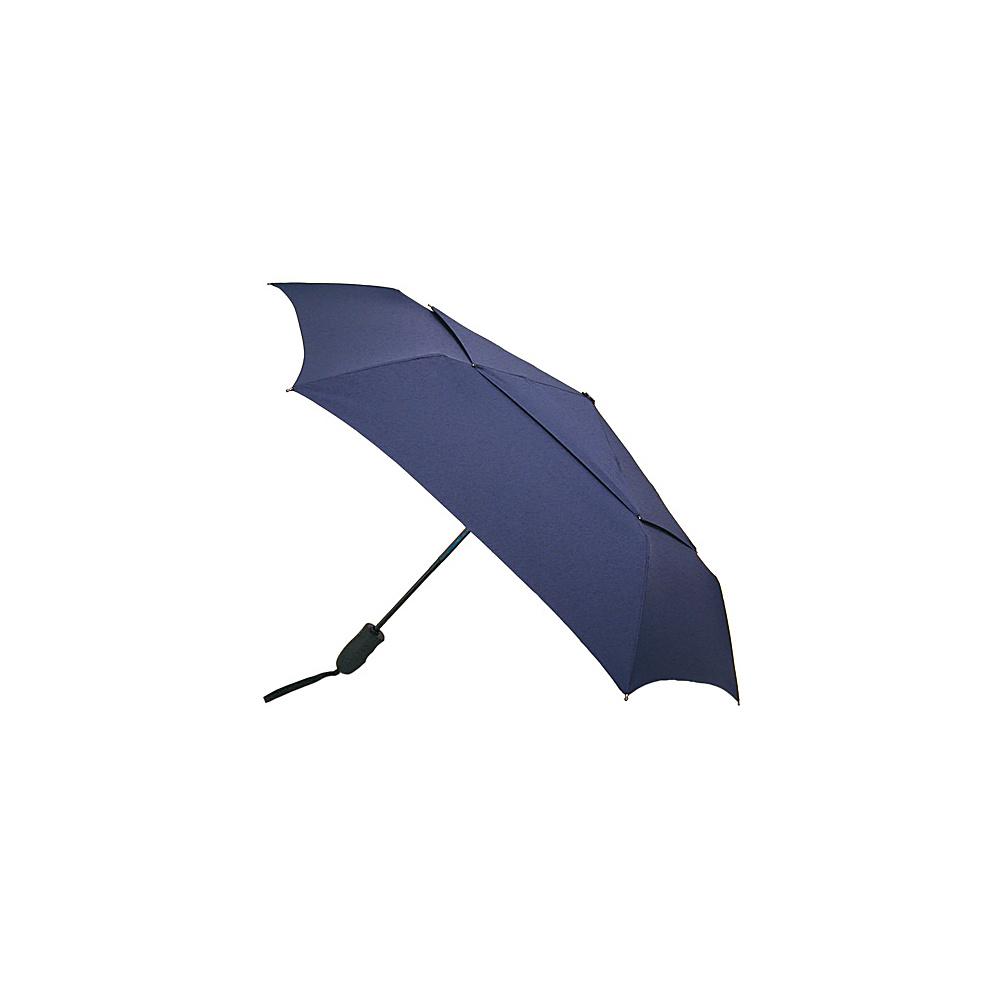 ShedRain Windjammer Auto Open & Close Umbrella - Solid Colors Navy - ShedRain Umbrellas and Rain Gear - Travel Accessories, Umbrellas and Rain Gear