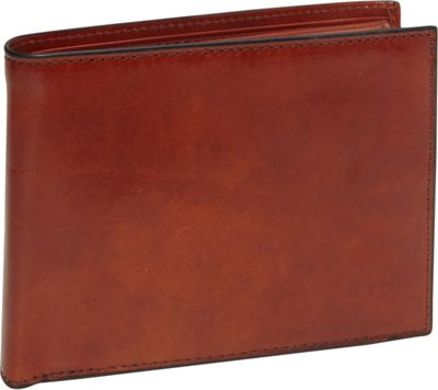 Bosca Old Leather Credit Wallet with ID Passcase Old Leather Amber