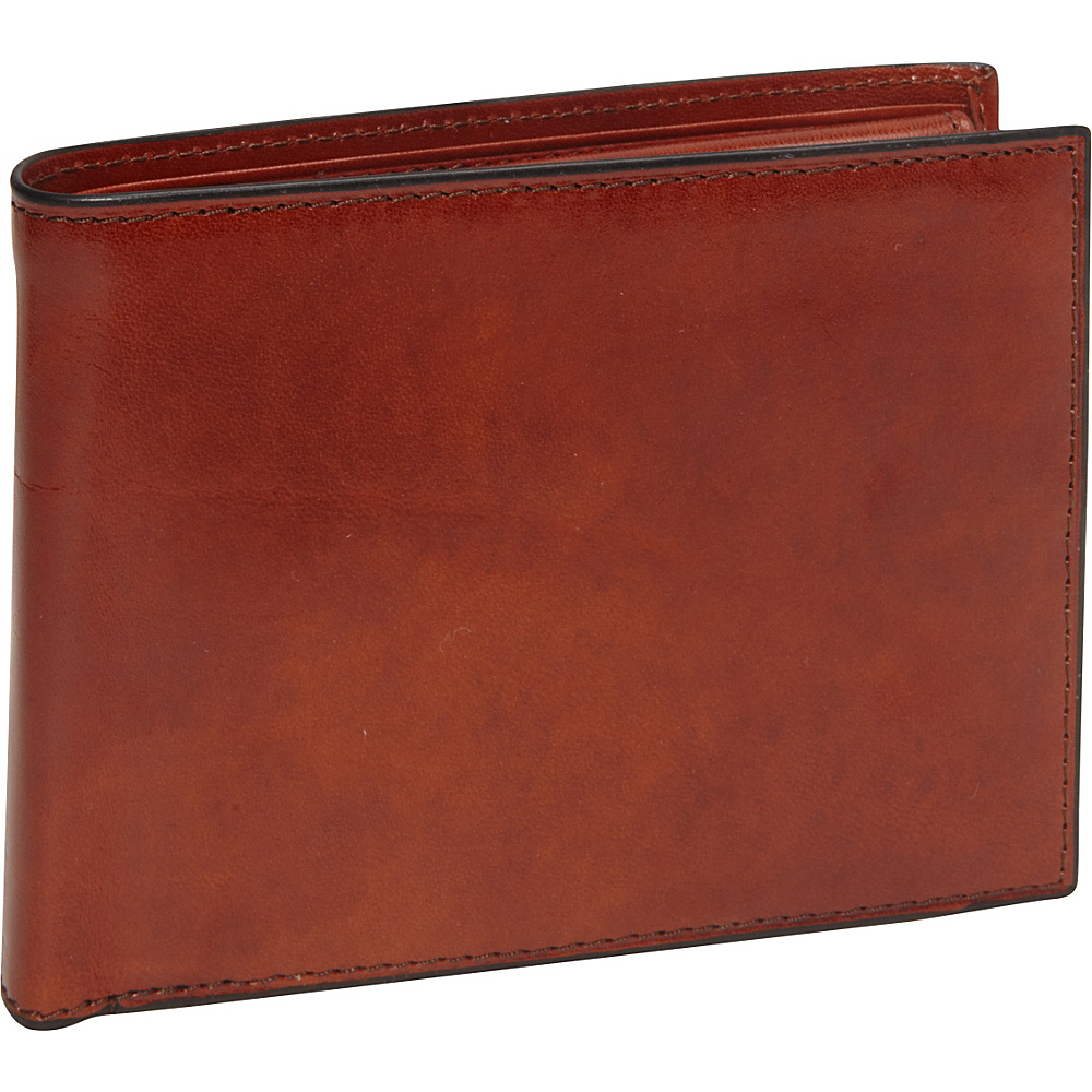 Bosca Old Leather Credit Wallet with ID Passcase Old Leather Amber (27) - Bosca Men's Wallets