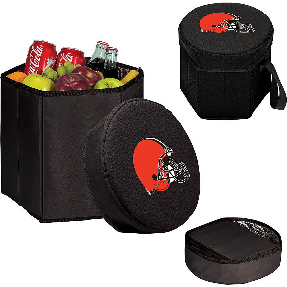 Picnic Time Cleveland Browns Bongo Cooler Cleveland Browns Black - Picnic Time Outdoor Coolers - Outdoor, Outdoor Coolers