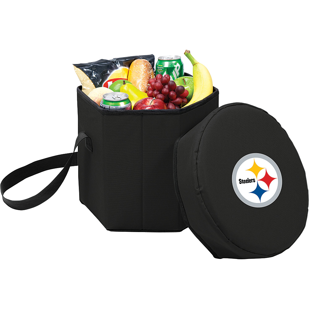 Picnic Time Pittsburgh Steelers Bongo Cooler Pittsburgh Steelers Black - Picnic Time Outdoor Coolers - Outdoor, Outdoor Coolers