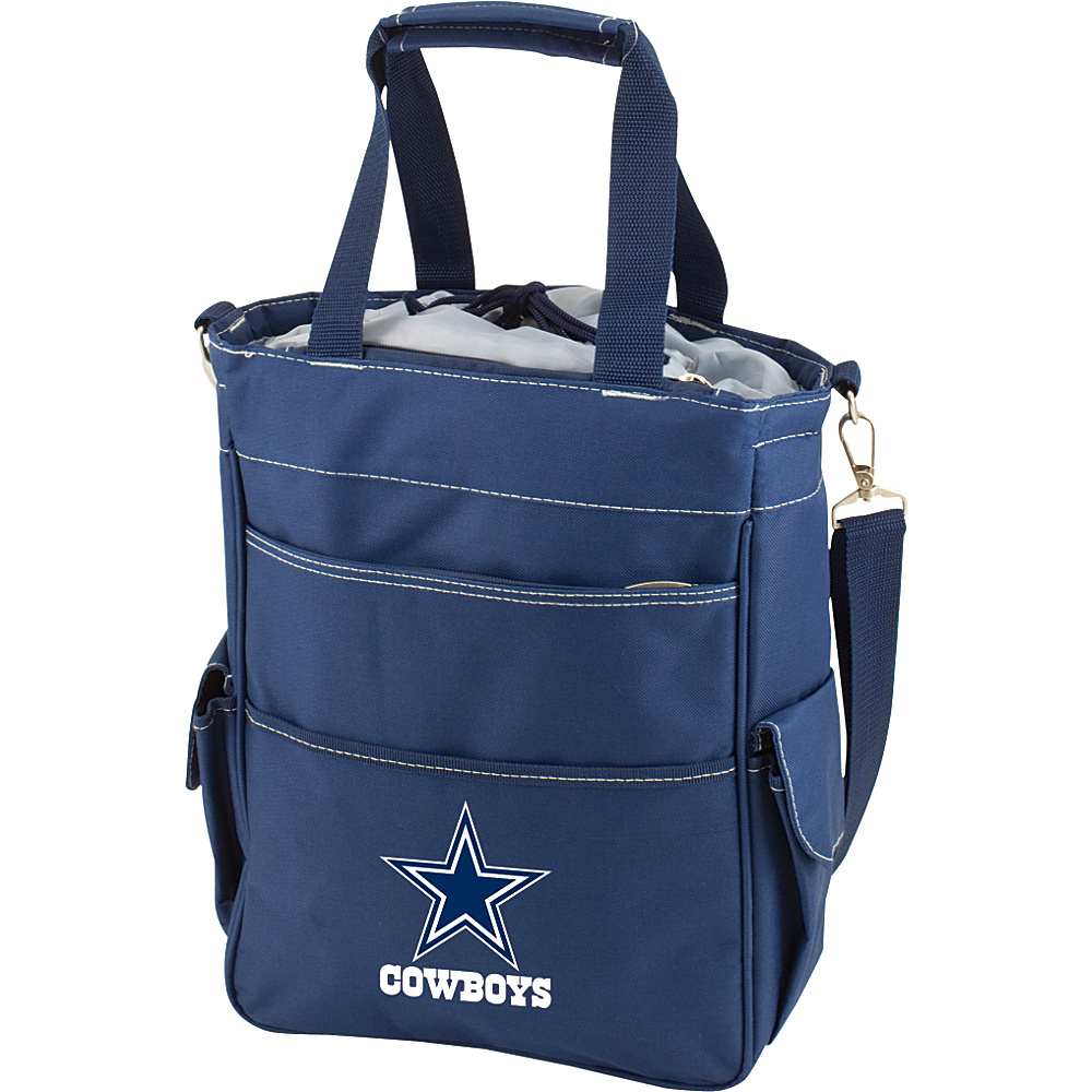 Picnic Time Dallas Cowboys Activo Cooler Dallas Cowboys Navy - Picnic Time Outdoor Coolers - Outdoor, Outdoor Coolers