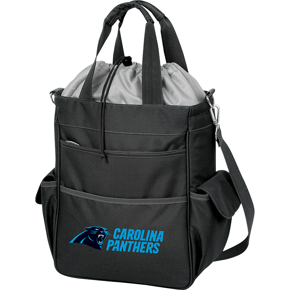 Picnic Time Carolina Panthers Activo Cooler Carolina Panthers Black - Picnic Time Outdoor Coolers - Outdoor, Outdoor Coolers
