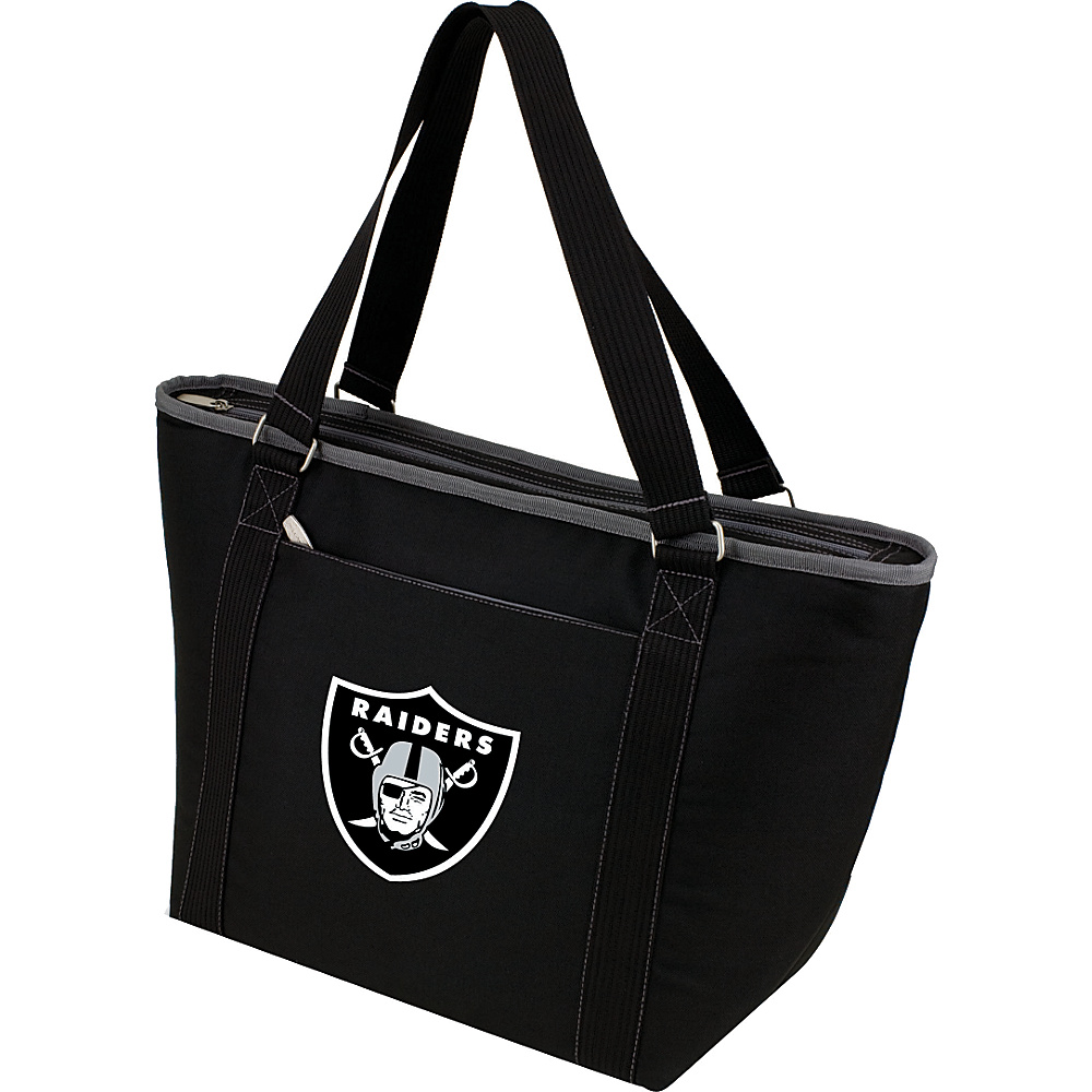 Picnic Time Oakland Raiders Topanga Cooler Oakland Raiders Black - Picnic Time Outdoor Coolers - Outdoor, Outdoor Coolers