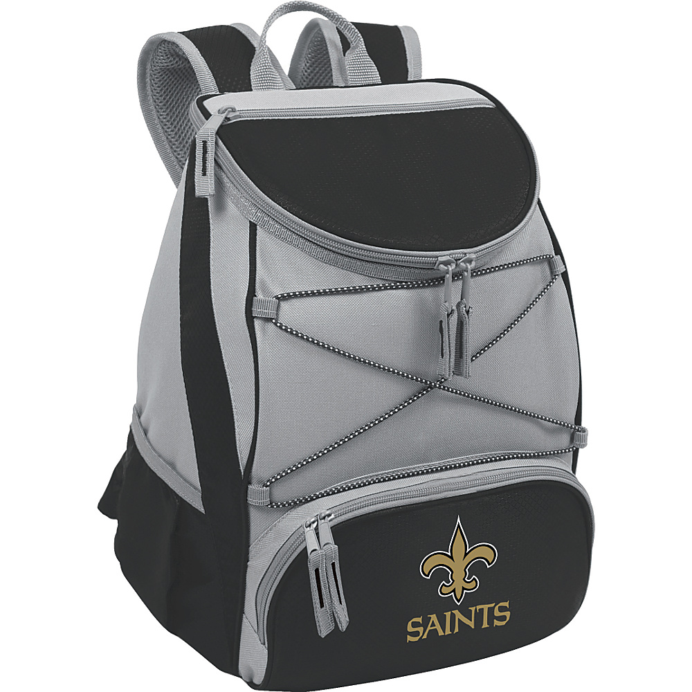 Picnic Time New Orleans Saints PTX Cooler New Orleans Saints Black - Picnic Time Outdoor Coolers - Outdoor, Outdoor Coolers