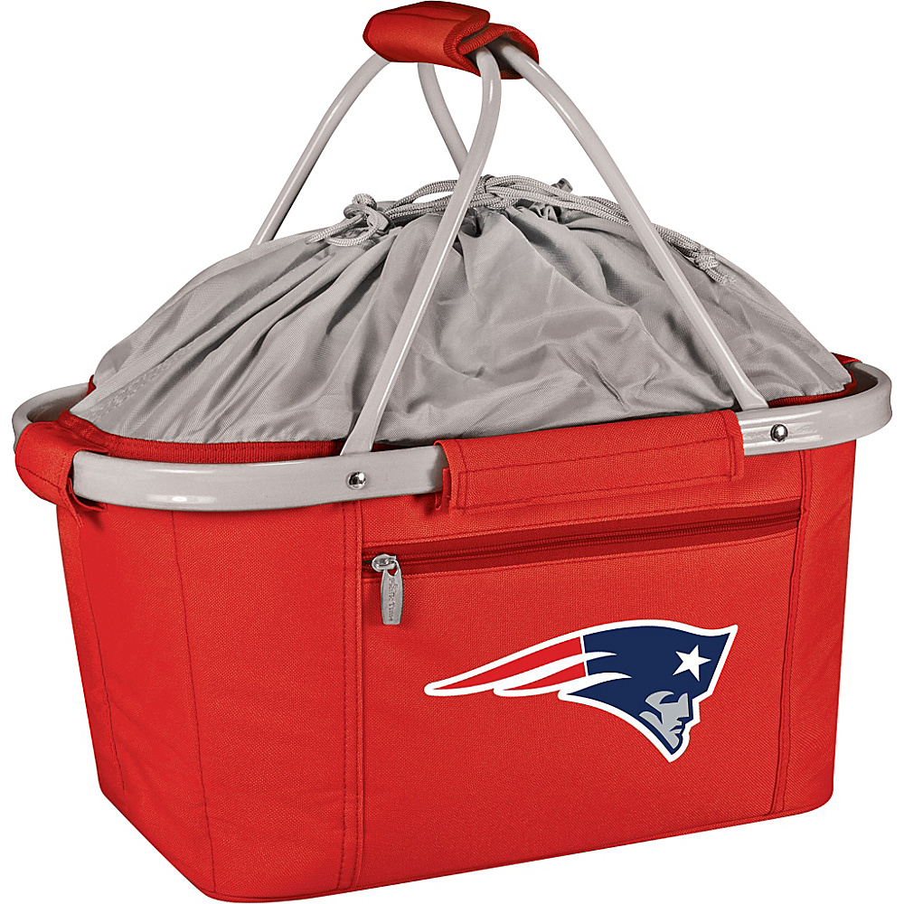 Picnic Time New England Patriots Metro Basket New England Patriots Red - Picnic Time Outdoor Coolers - Outdoor, Outdoor Coolers