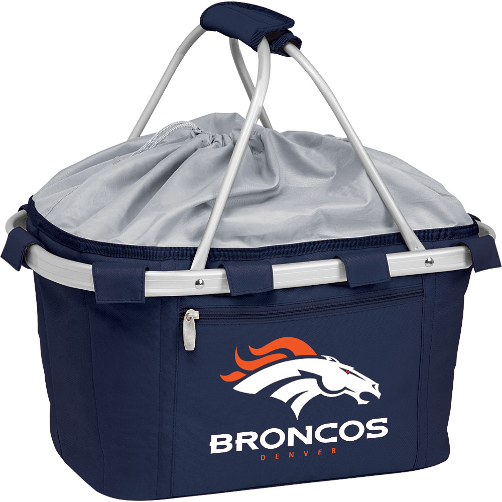 Picnic Time Denver Broncos Metro Basket Denver Broncos Navy - Picnic Time Outdoor Coolers - Outdoor, Outdoor Coolers