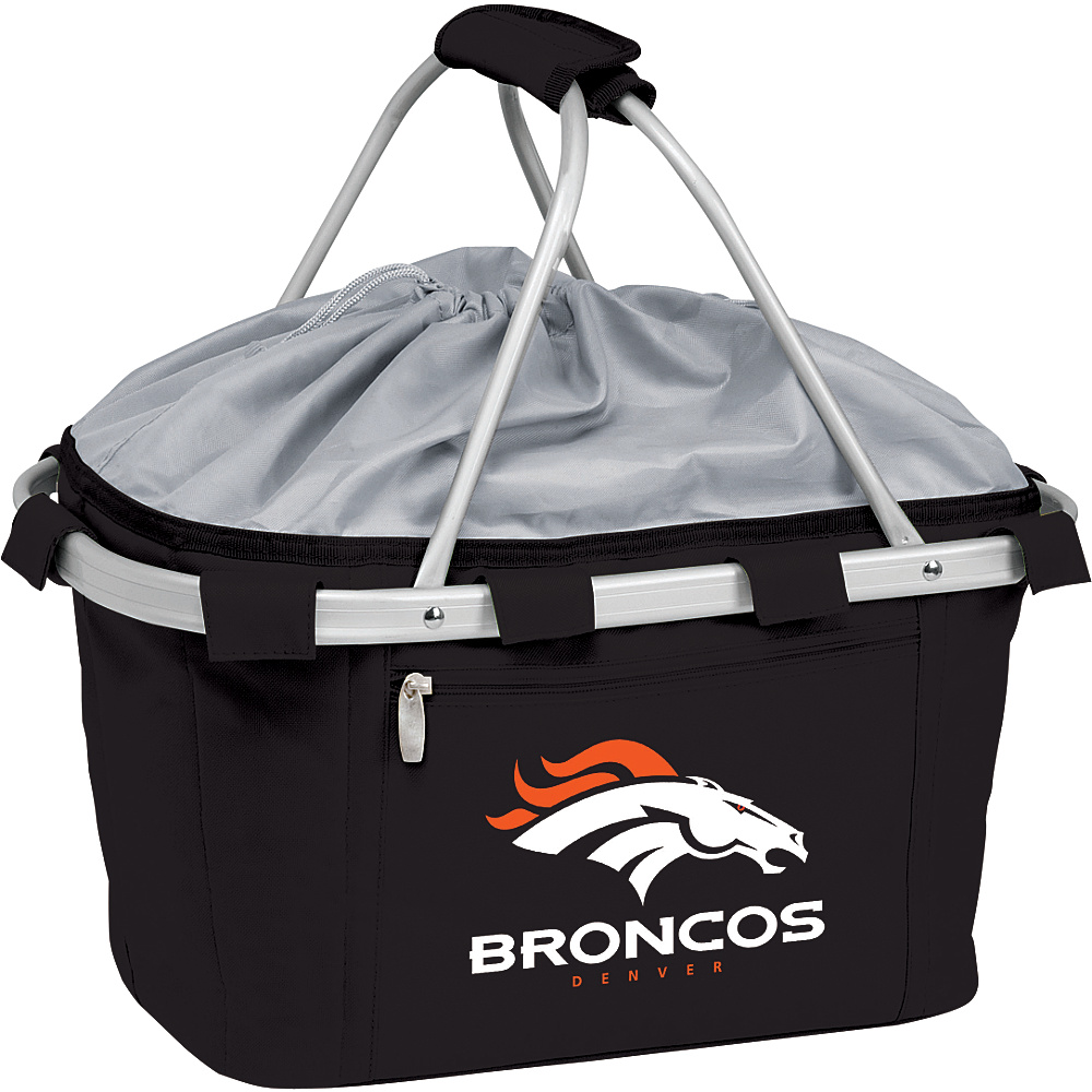 Picnic Time Denver Broncos Metro Basket Denver Broncos Black - Picnic Time Outdoor Coolers - Outdoor, Outdoor Coolers