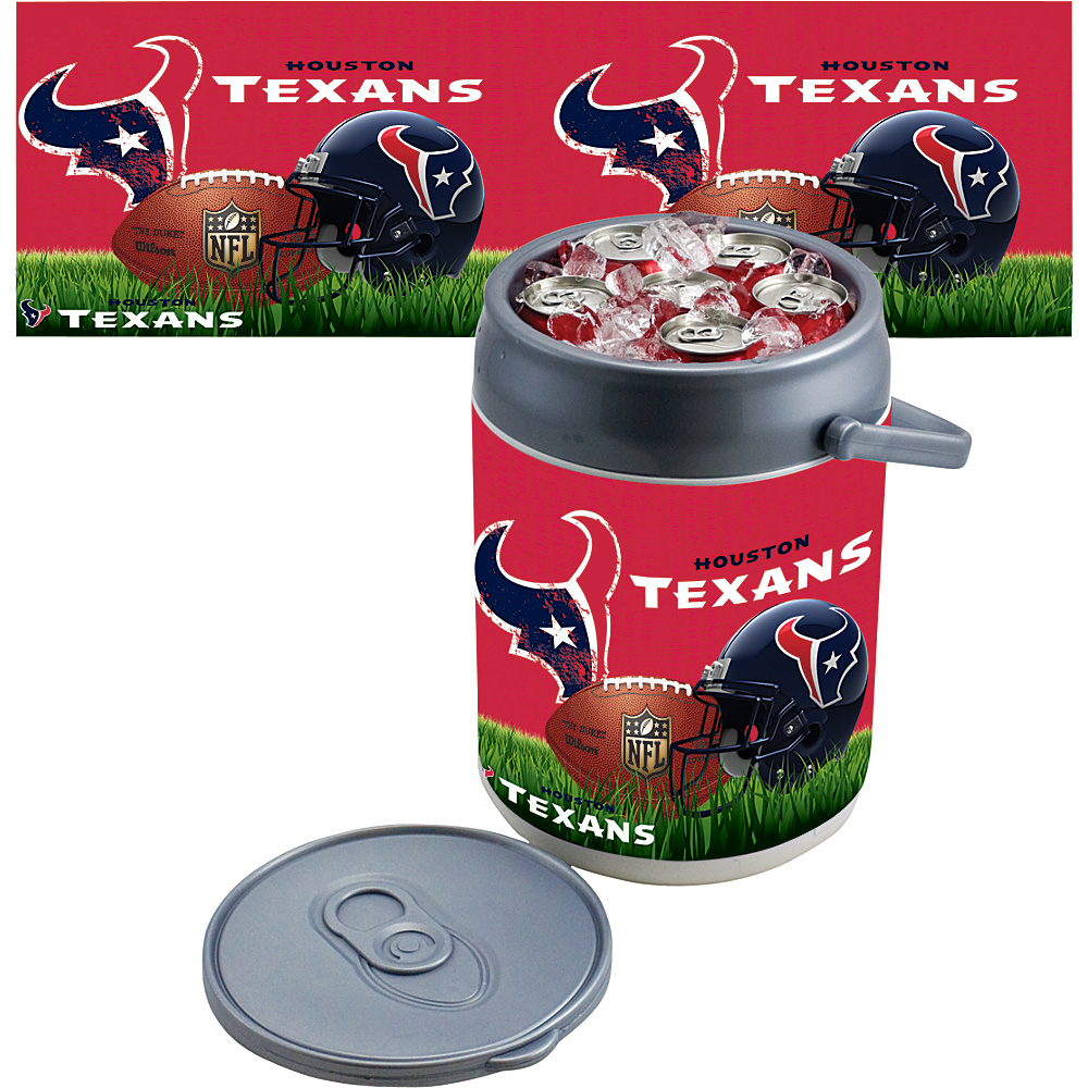 Picnic Time Houston Texans Can Cooler Houston Texans - Picnic Time Outdoor Coolers - Outdoor, Outdoor Coolers