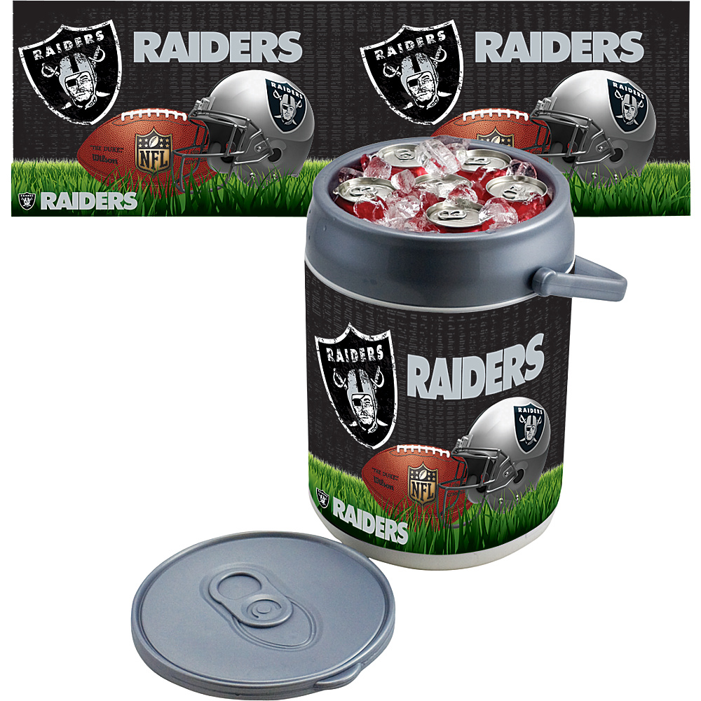 Picnic Time Oakland Raiders Can Cooler Oakland Raiders - Picnic Time Outdoor Coolers - Outdoor, Outdoor Coolers