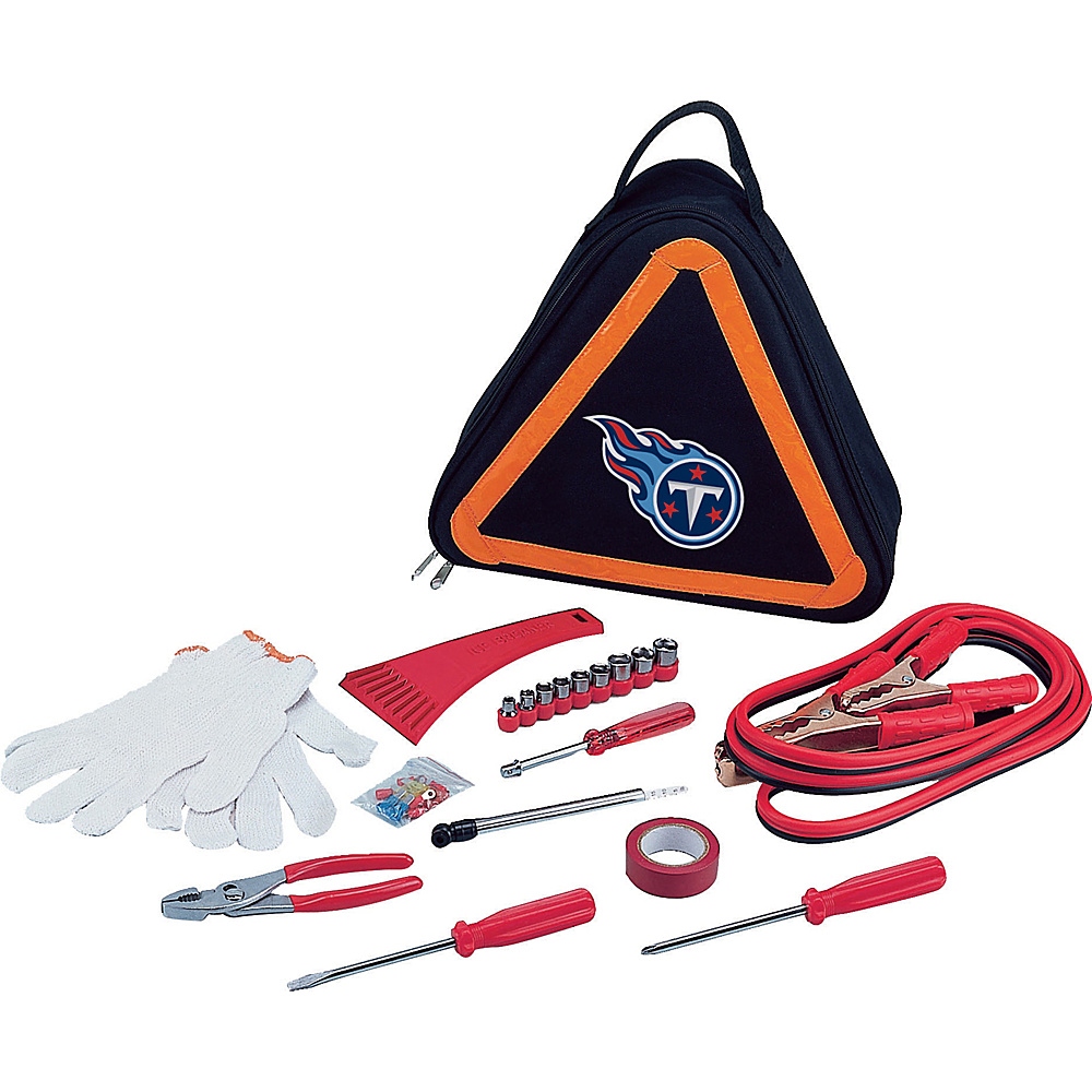 Picnic Time Tennessee Titans Roadside Emergency Kit Tennessee Titans - Picnic Time Trunk and Transport Organization - Travel Accessories, Trunk and Transport Organization