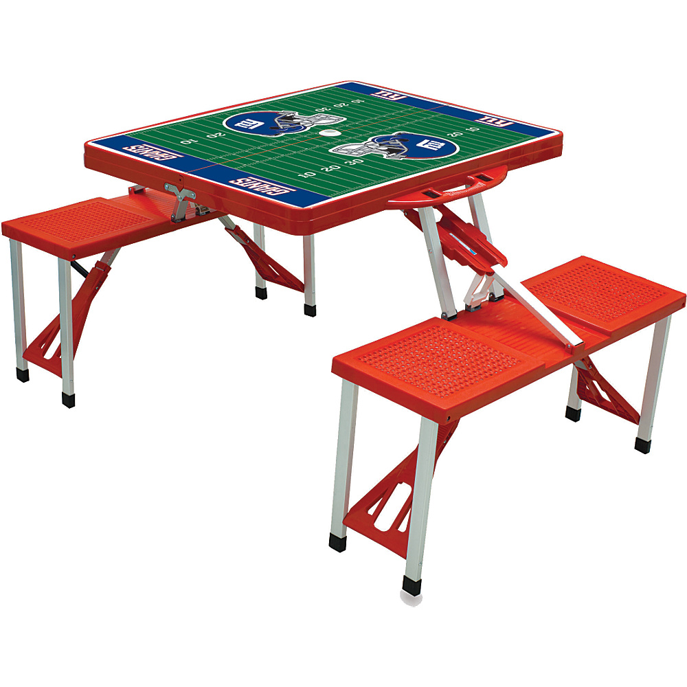 Picnic Time New York Giants Picnic Table Sport New York Giants Red - Picnic Time Outdoor Accessories - Outdoor, Outdoor Accessories