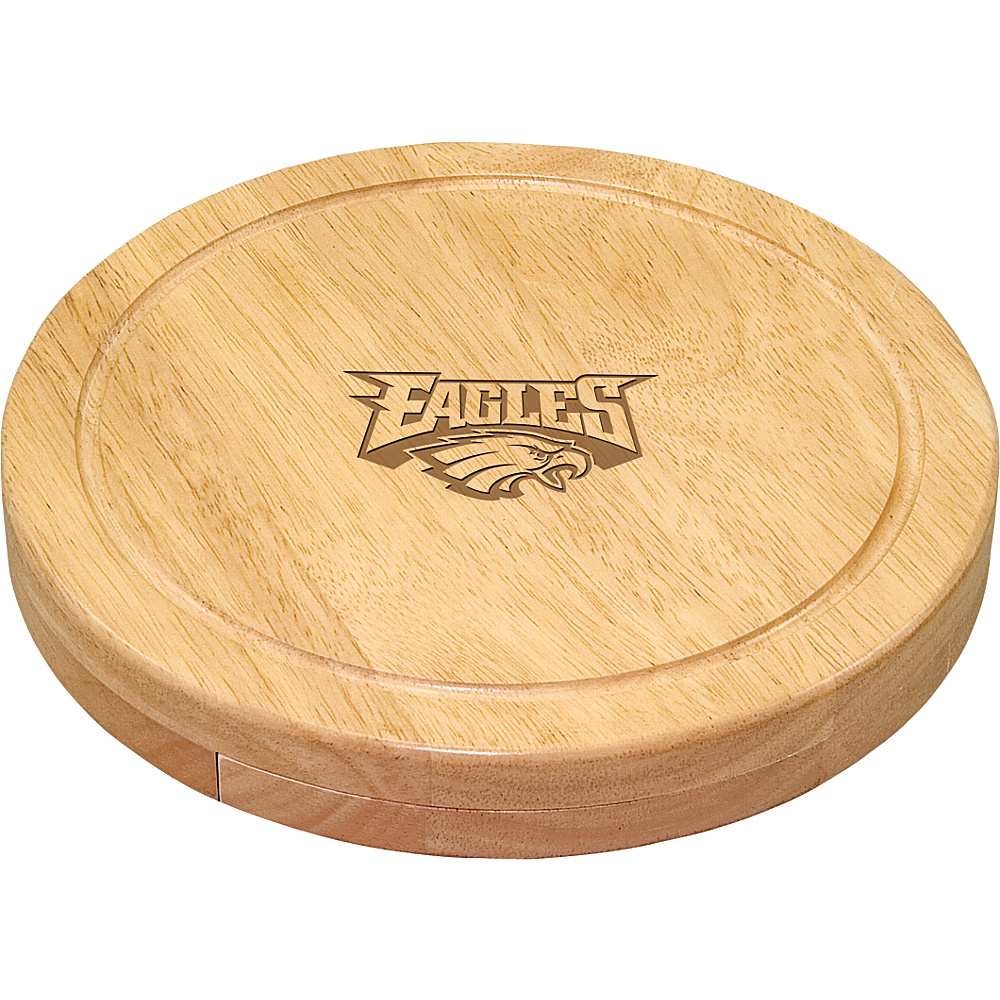 Picnic Time Philadelphia Eagles Cheese Board Set Philadelphia Eagles - Picnic Time Outdoor Accessories - Outdoor, Outdoor Accessories