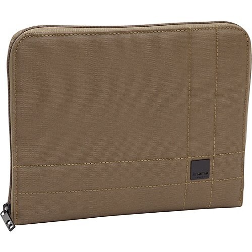 KNOMO London iPad Zip Sleeve Army - KNOMO London Laptop Sleeves