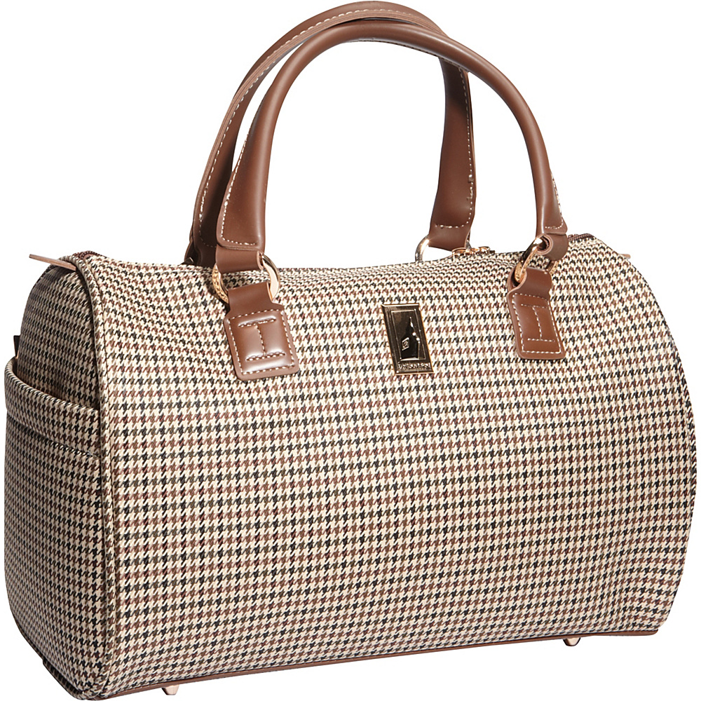 London Fog Chelsea Lites 16 Satchel Tote Olive Plaid London Fog Luggage Totes and Satchels