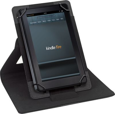 SOLO Surge Universal Tablet Case, Fits tablets 5.5 inch up to 8.5 inch Black - SOLO Electronic Cases