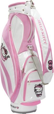 Hello Kitty Golf Hello Kitty Golf  inchMix & Match inch Cart Bag White/Pink - Hello Kitty Golf Golf Bags