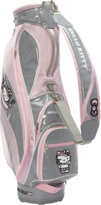Hello Kitty Golf Hello Kitty Golf Hello Kitty Golf  inchMix & Match inch Cart Bag Grey/Pink - Hello Kitty Golf Golf Bags