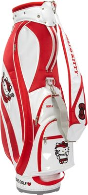 Hello Kitty Golf Hello Kitty Golf  inchMix & Match inch Cart Bag White/Red - Hello Kitty Golf Golf Bags
