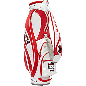 Hello Kitty Golf ''Mix & Match'' Cart Bag White/Red