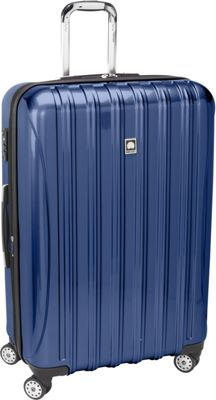 Delsey Helium Aero Expandable Spinner Trolley - 29 inch Colbalt Blue - Delsey Hardside Checked